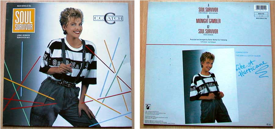 C.C. Catch ‎– Soul Survivor auf Vinyl, Maxi-Single