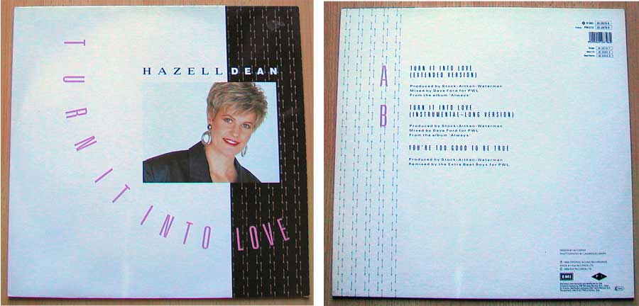 Hazell Dean ‎– Turn It Into Love auf Vinyl, Maxi-Single