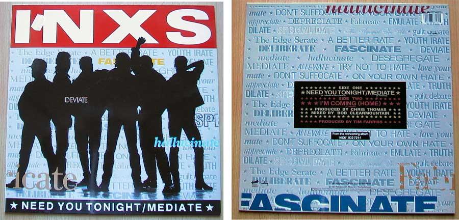 INXS - Need You Tonight auf Vinyl, Maxi-Single
