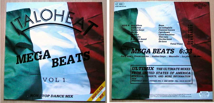Italoheat - Mega Beats Vol. 1 auf Vinyl, Maxi-Single