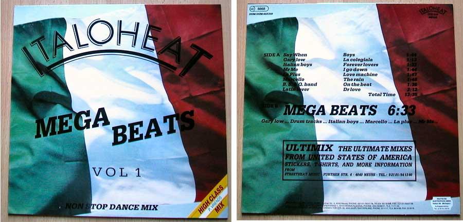 Italoheat - Mega Beats Vol. 1, Vinyl, Scheunenfund