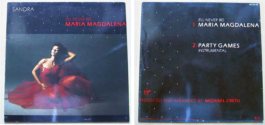 Sandra – Maria Magdalena auf Vinyl, Maxi-Single