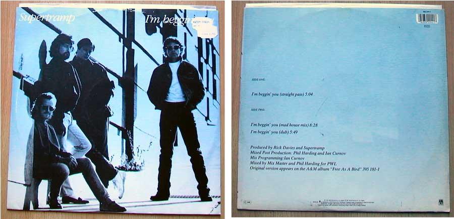 Supertramp - I'm Beggin You auf Vinyl, Maxi-Single