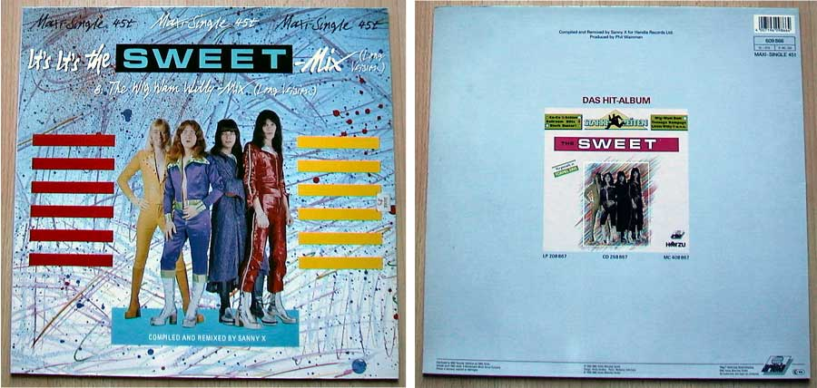 Sweet ‎– It's It's The Sweet Mix auf Vinyl, Maxi-Single