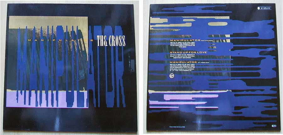 The Cross - Manipulator auf Vinyl, Maxi-Single
