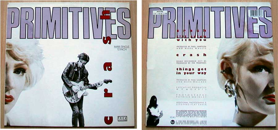 The Primitives ‎– Crash auf Vinyl, Maxi-Single