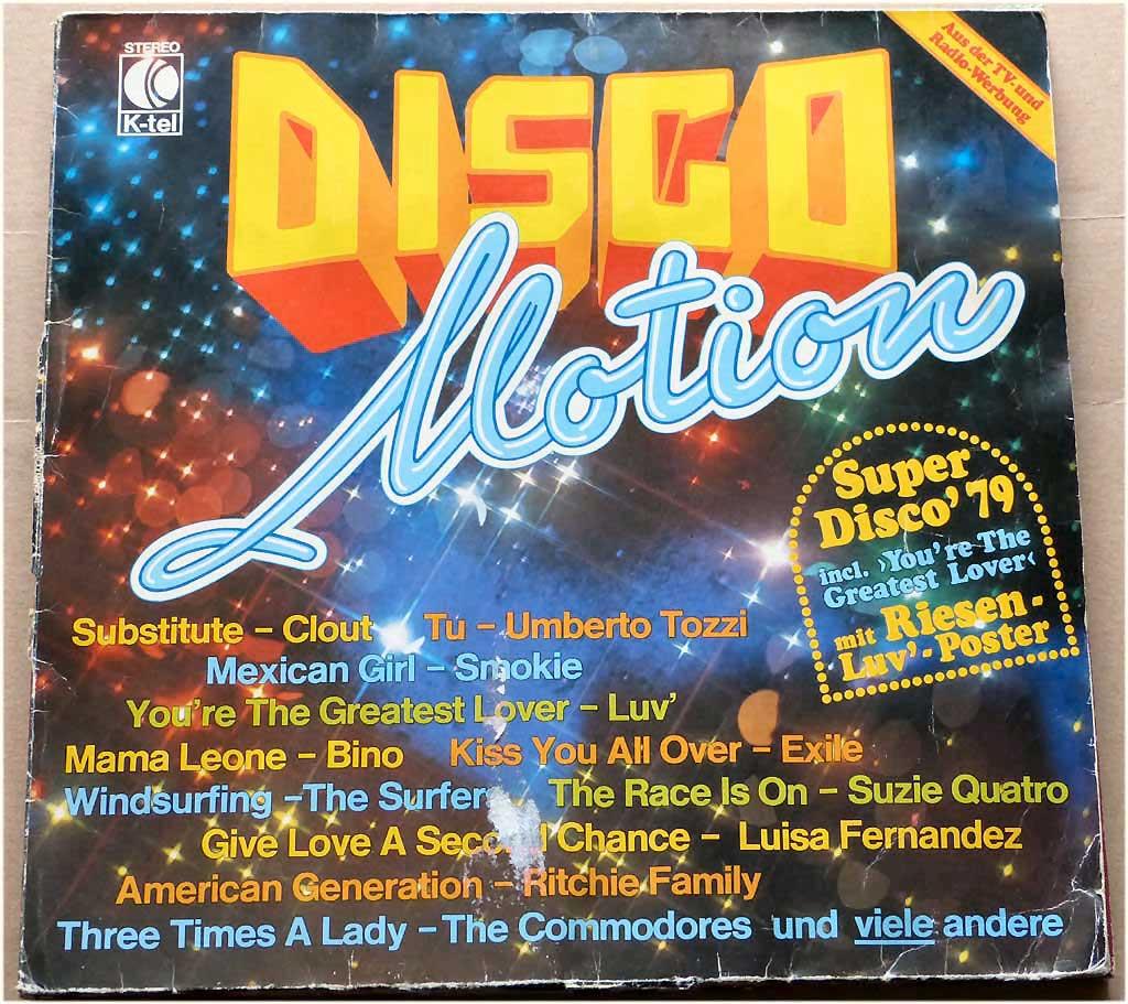 Trendsetter LP von 1978 Discomusik