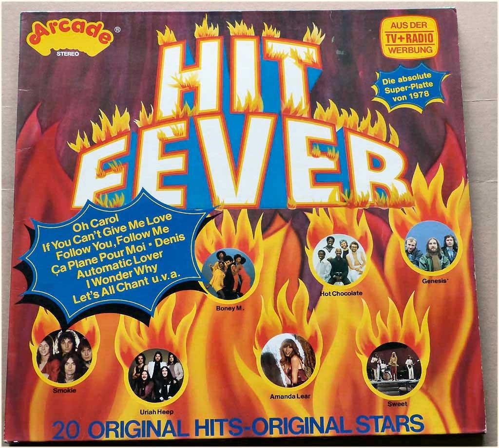 Trendsetter Vinyl feurigen Hits 1978
