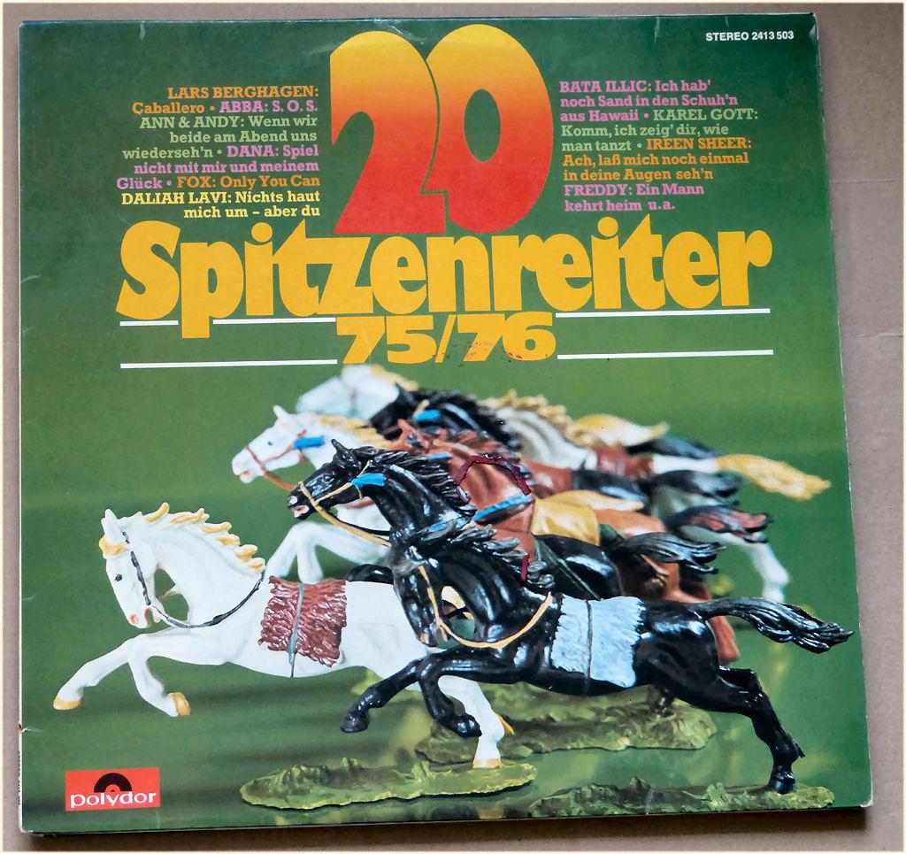 Partylieder auf Vinyl Spitzenreiter