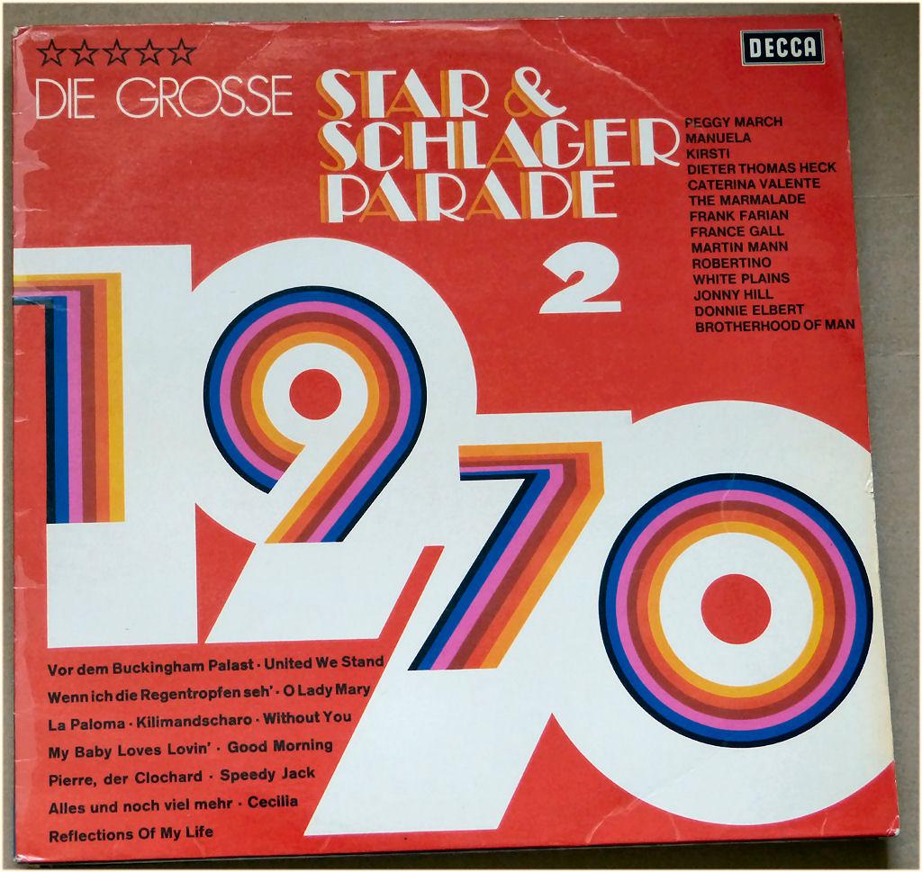 Partylieder Schallplatte Schlagerparade