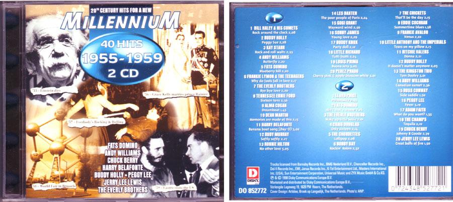 Millennium Hits auf CD
