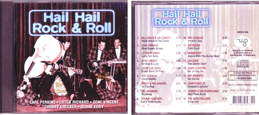 Hail Hail, CD mit Rock and Roll