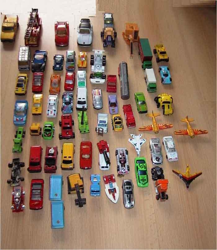 modellautos Konvolut Spielzeugautos No-Name