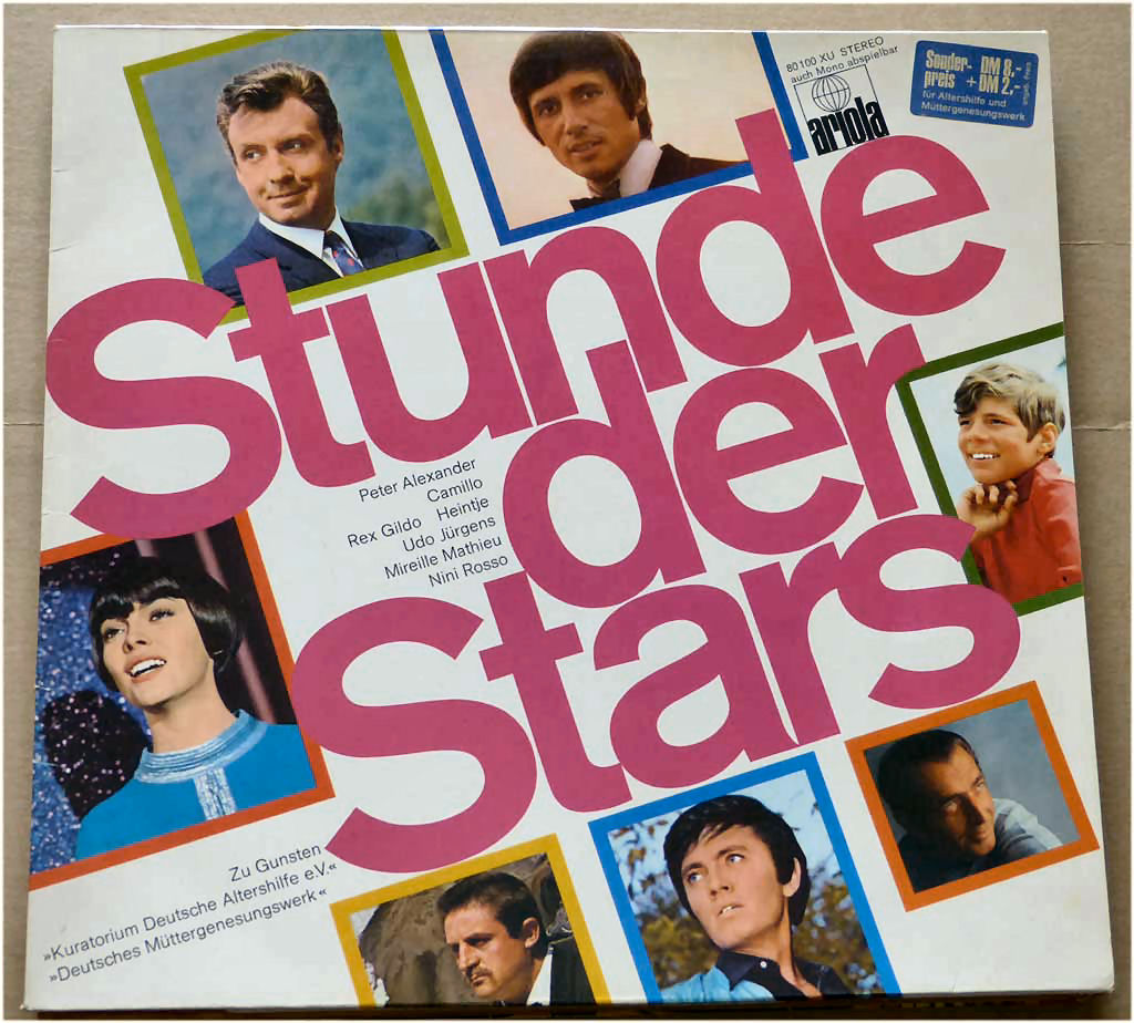 Vinyl Stunde der Stars