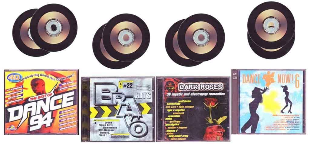 Doppel-CDs - Musik im Doppelpack zum Tauschen