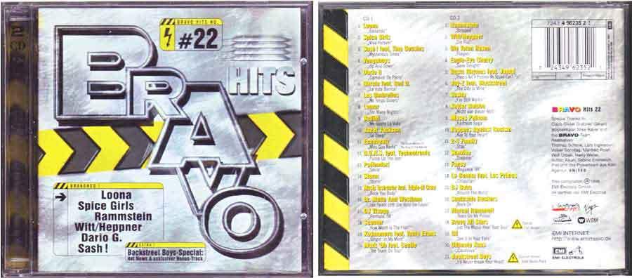 Doppel-CDs - Bravo Hits 22 zum Tauschen