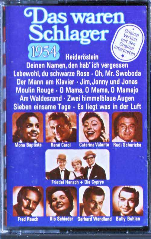 schlager 1954