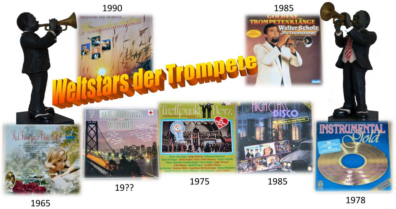 Heimweh-Melodien auf Schallplatten