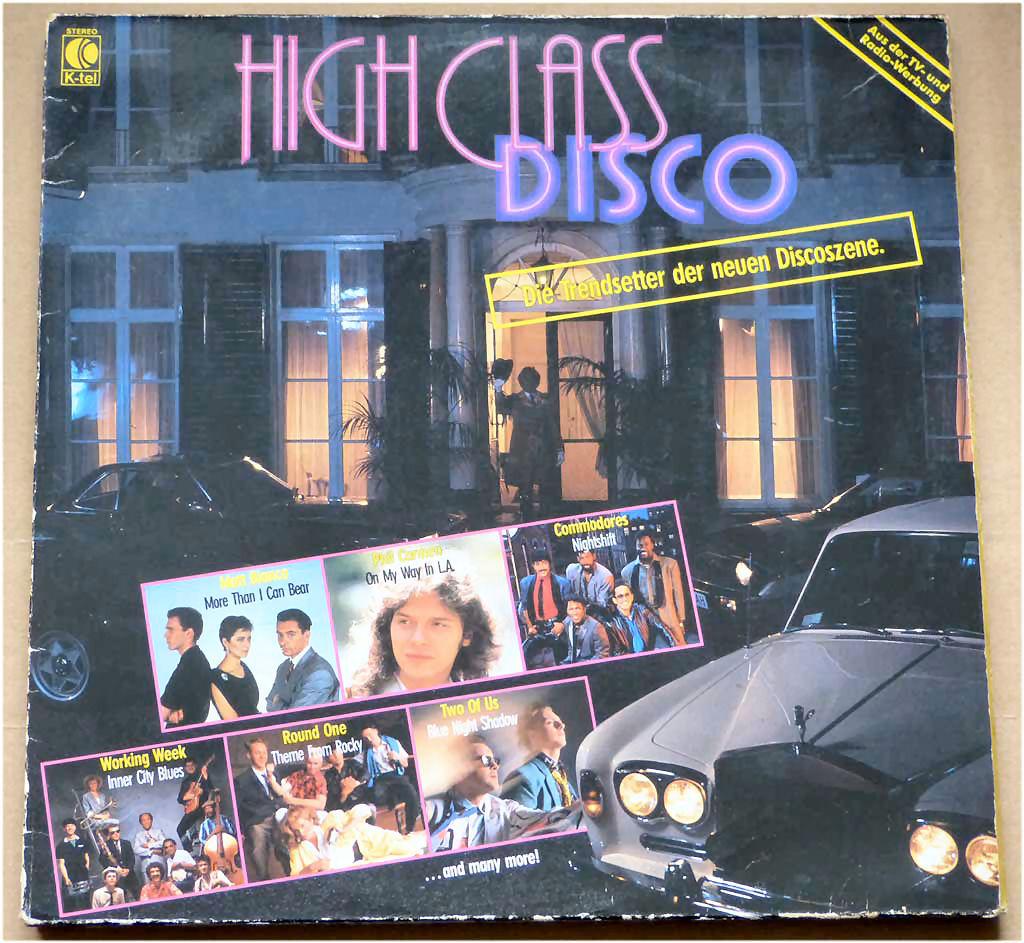 Disco Trendsetter auf Schallplatte