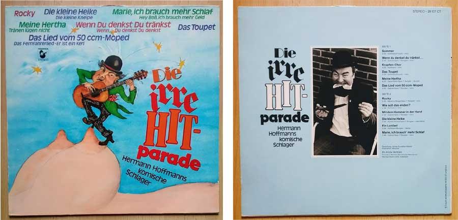 Musik auf Vinyl die Irre Hitparade