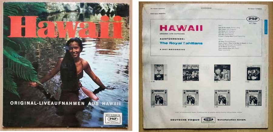 Seemannslieder auf Vinyl aus Hawaii mit Original