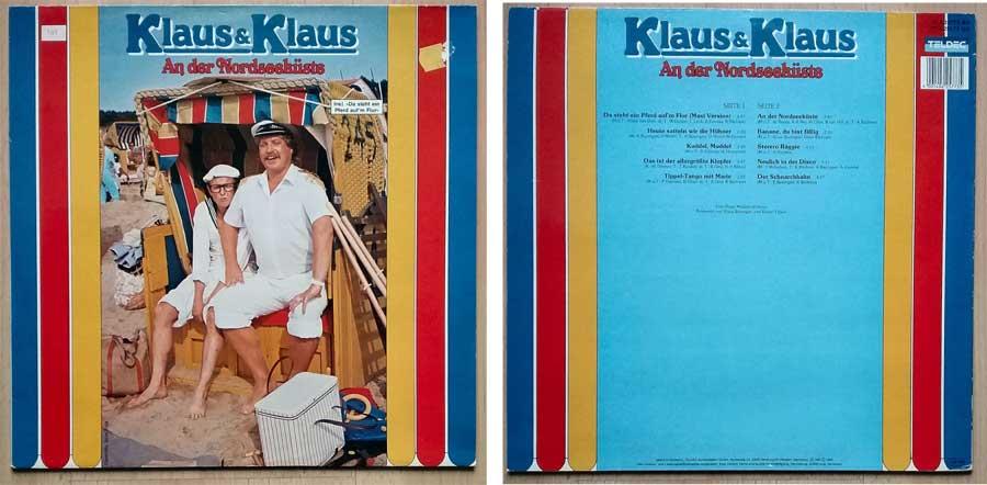Schallplatte (LP) von Klaus und Klaus