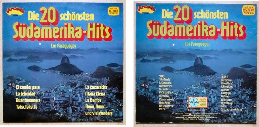20 schönste Südamerika-Hits auf Schallplatte