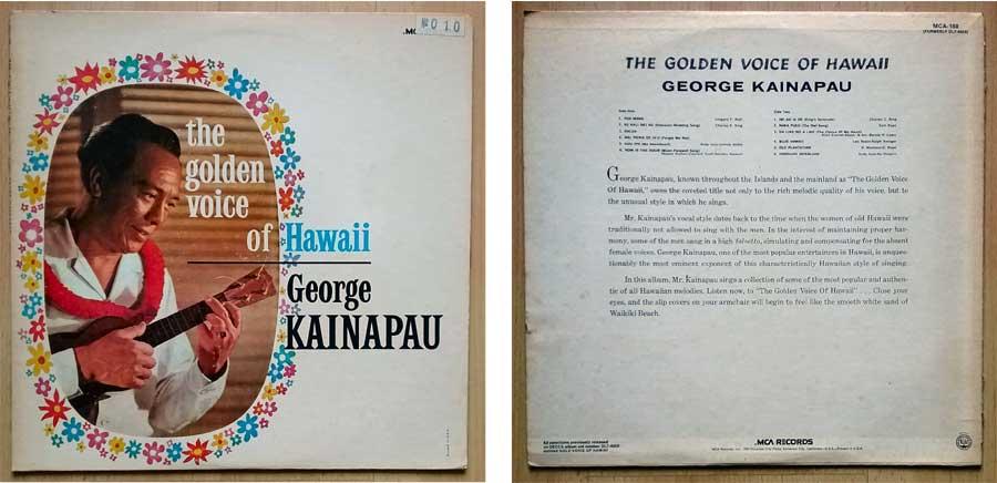 Hula Dance, Hawaii Tanz auf LP mit George Kainapau