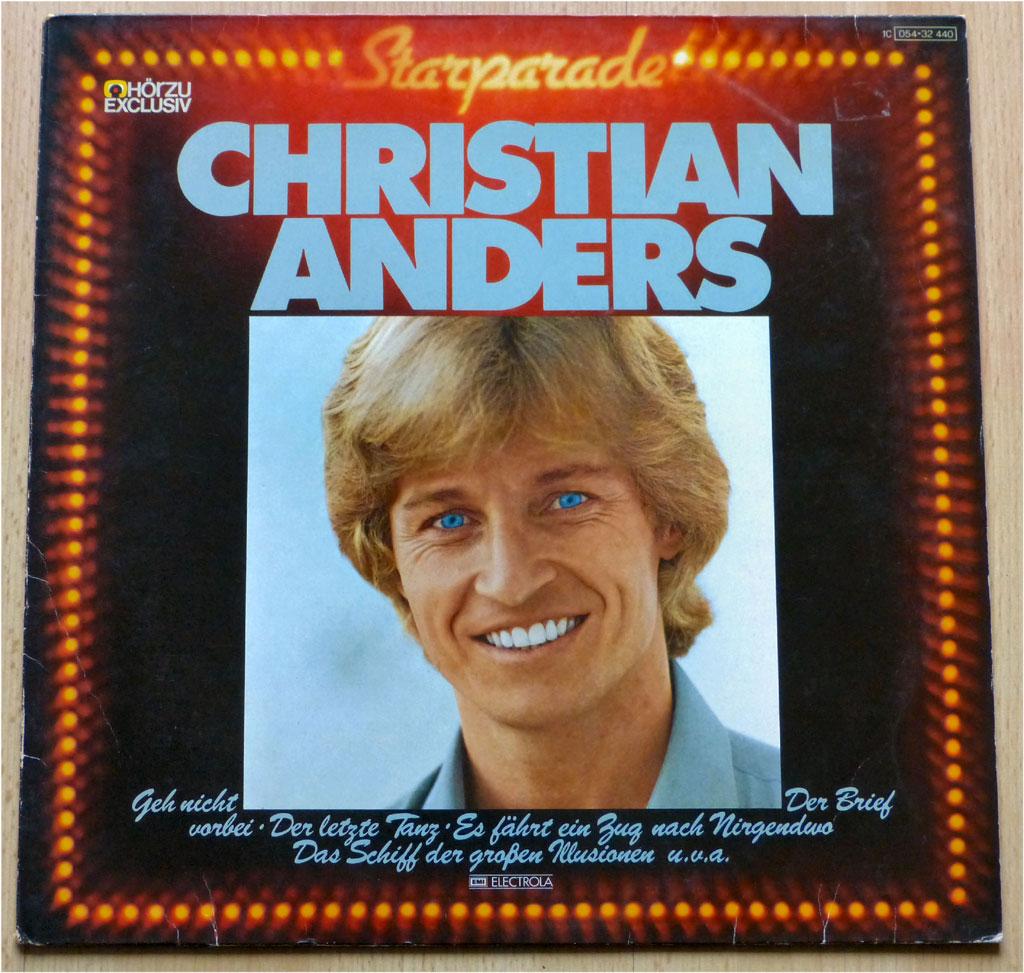 Popgeschichten LP, Vinyl Christian Anders