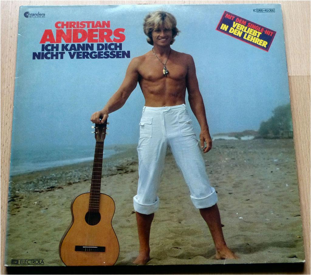 Popgeschichten auf LP von Christian Anders