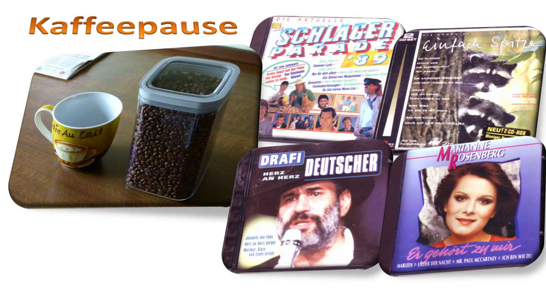 Kaffeepause Banner Musikwelt