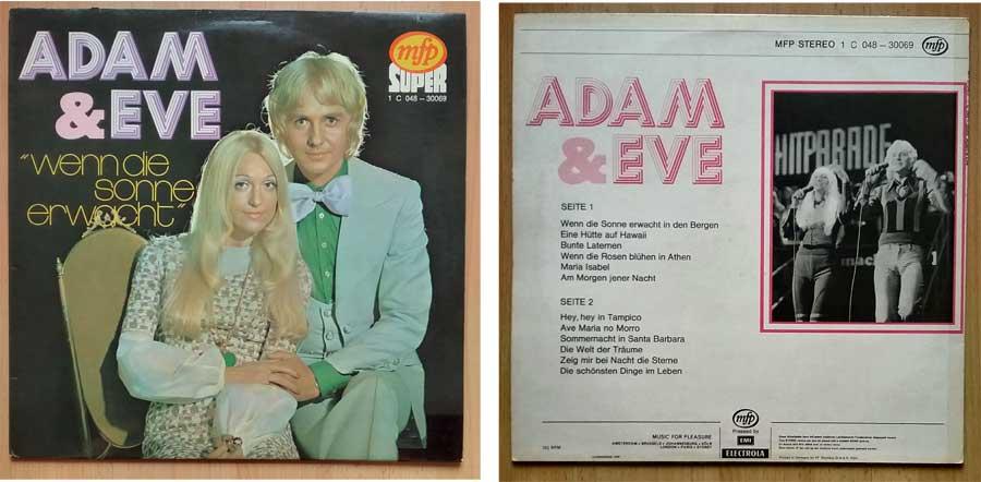 Musik, Schlager von Adam & Eve auf LP, Vinyl