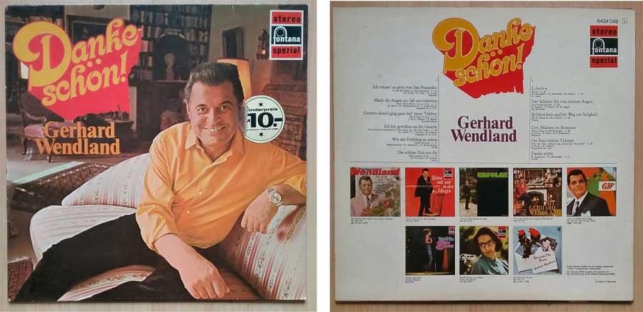 Schallplatte von Gerhard Wendland