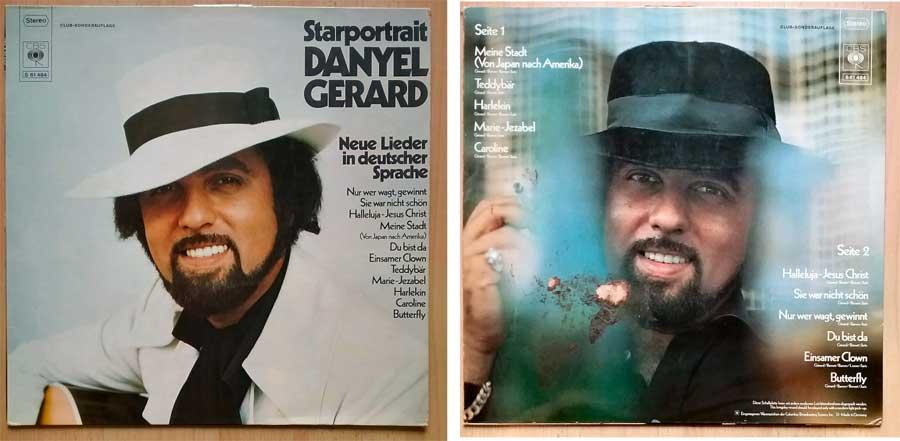 Schallplatte mit Danyel Gerard
