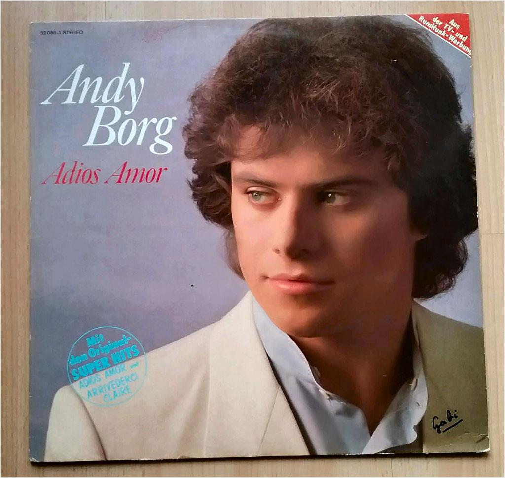 Andy Borg - Adios Amor auf Vinyl