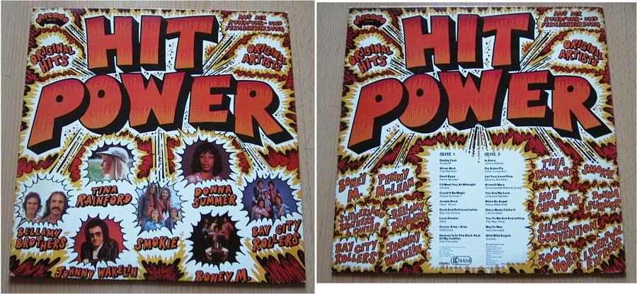 Hit Power Schallplatte 12 Zoll