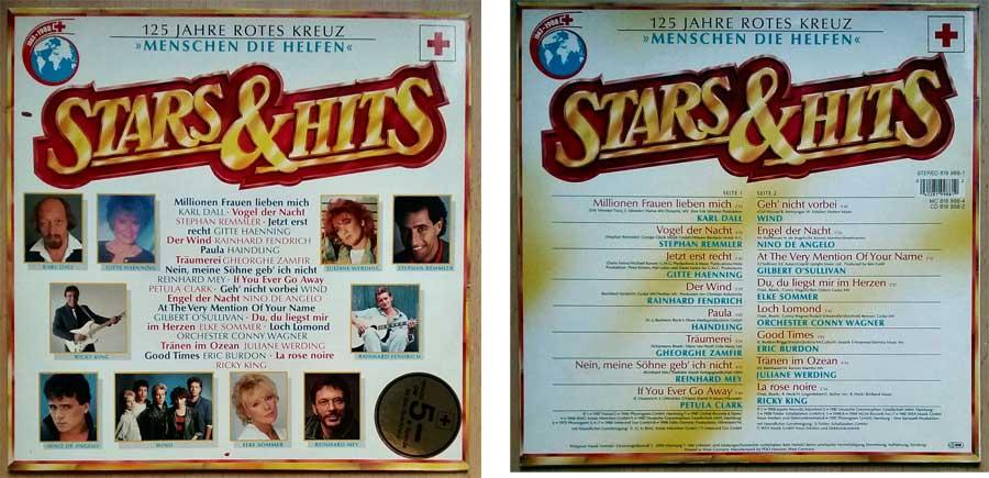 Schallplatte 125 Jahre Rote Kreuz mit Stars & Hits