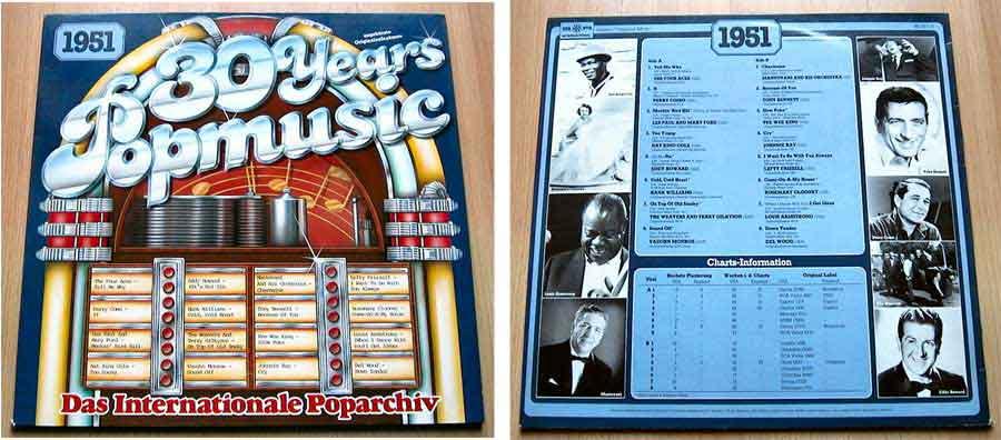30 Years Popmusic - LP Vinyl - Compilation von 1951