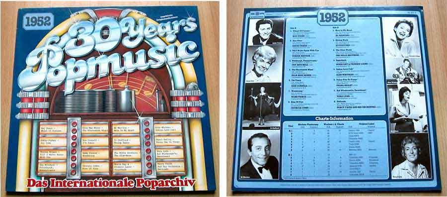 30 Years Popmusic - LP Vinyl - Compilation von 1952