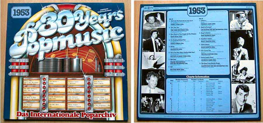 30 Years Popmusic - LP Vinyl - Compilation von 1953