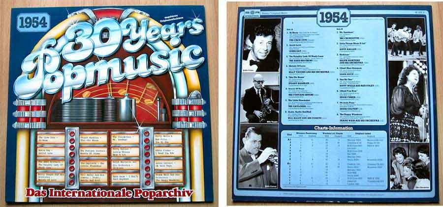 30 Years Popmusic - LP Vinyl - Compilation von 1954