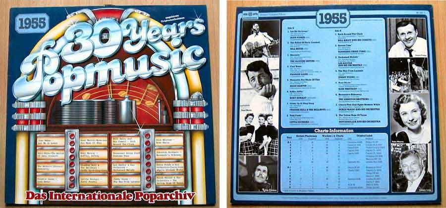 30 Years Popmusic - LP Vinyl - Compilation von 1955