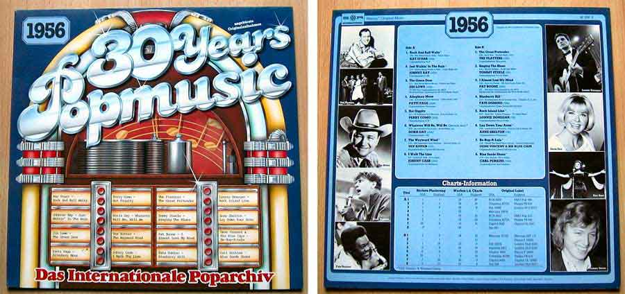 30 Years Popmusic - LP Vinyl - Compilation von 1956