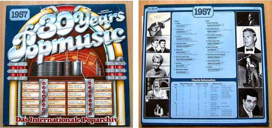 30 Years Poparchiv - Vinyl - Compilation von 1957