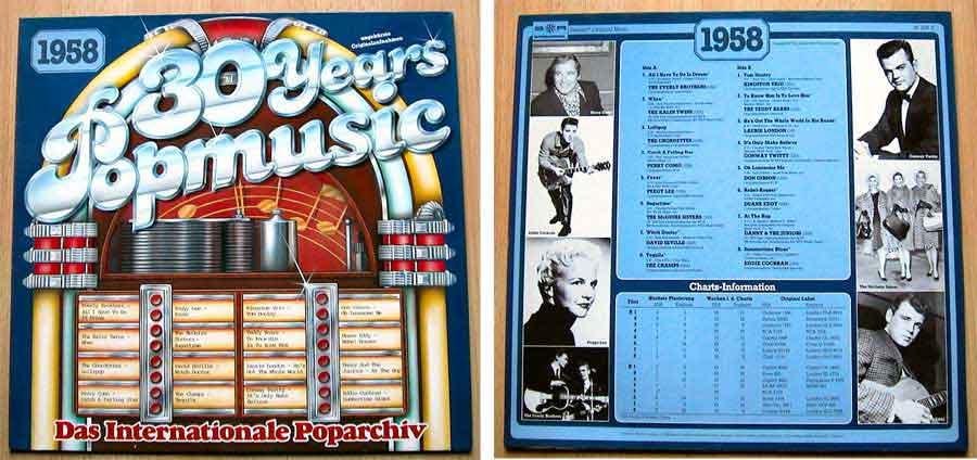 30 Years Poparchiv - Vinyl - Compilation von 1958
