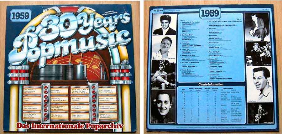 30 Years Popmusic - LP Vinyl - Compilation von 1959