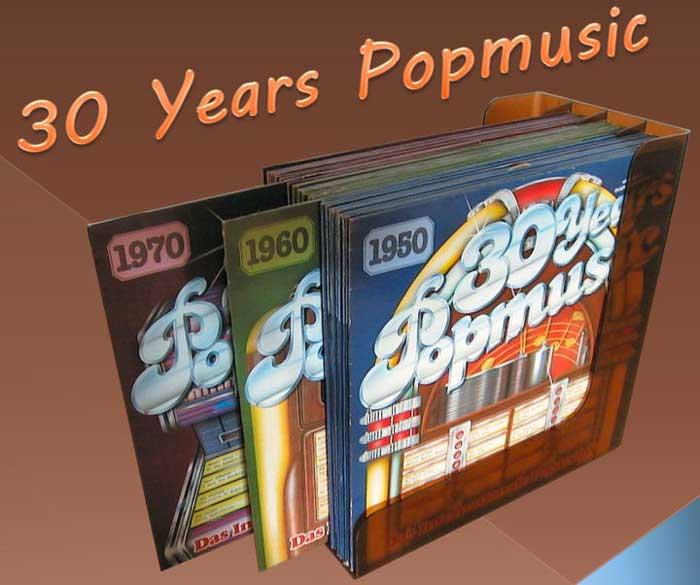 Popmusic Bild 30 Jahre Schallplatten