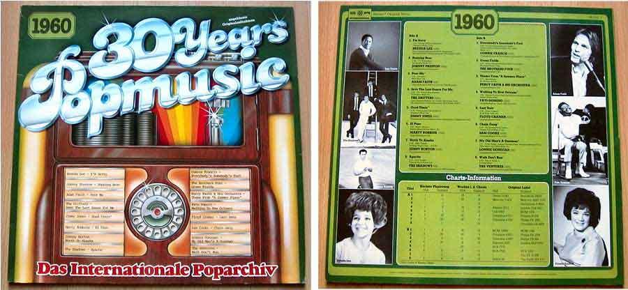 Originalaufnahmen 60er-Jahre, Popmusik von1960