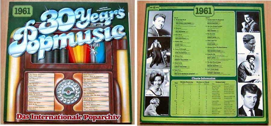 Originalaufnahmen 60er-Jahre, Popmusik von 1961