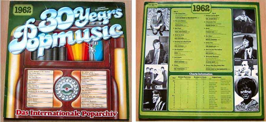 Originalaufnahmen 60er-Jahre, Popmusik von 1962